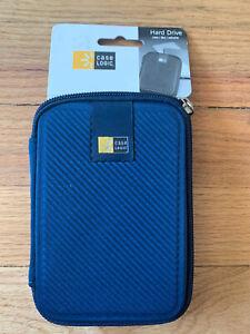 Case Logic Hard Drive Case -Blue; New