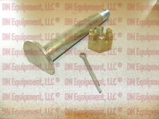 """Replacement Rotary Cutter Tailwheel Hub Axle Bolt, 1"""" X 7"""" with Castle Nut"""