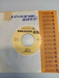 Dunhill Goldies 1446 (US) Tommy Roe - Sheila (reissue)