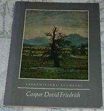 CASPAR DAVID FRIEDRICH Johannes Beer p/b German text