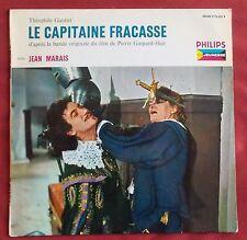 """LE CAPITAINE FRACASSE 25 CM 10"""" 33T D'APRES LA BANDE ORIGINALE DU FILM"""