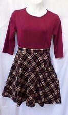 MIUSOL Women's XL Vintage 1950s style Evening, Career, school girl A-line Dress