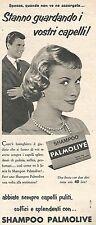 W8677 Shampoo PALMOLIVE  - Pubblicità del 1958 - Vintage advertising