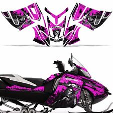 Rev XR Decal Graphic Kit Ski Doo Skidoo Sled Snowmobile Wrap Summit 13+ REAP PNK