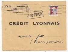 ORLEANVILLES ALGER BOURSE 1962 E A ALGERIE ETAT ALGERIEN PAR AVION COVER. L859