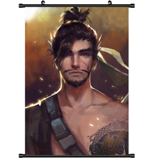 3573 Hot Game Overwatch Hanzo Wall Poster Scroll