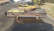 Commercial Wood Log Splitter Skid Steer Tractor 48 Capacity 12 Cutting Edge