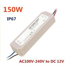 150w Dc 12v Waterproof Rubber Shell Led Power Supply Transformer Driver Ip67
