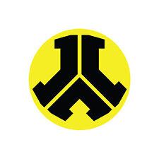 Defqon.1 Black and Yellow 10cm x 10cm Sticker