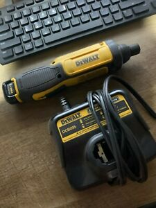 DEWALT DCF682 8V LITHIUM ION GYROSCOPIC SCREWDRIVER