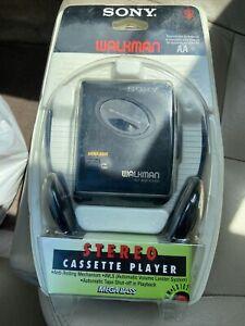 Sony Walkman Stereo Cassette Player With Mega Bass WM-EX102 Anti-Rolling Mechani