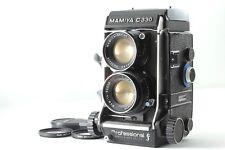 【Near Mint】Mamiya C330 Pro F TLR Camera w/sekor DS 105mm f3.5  Blue Dot from JP