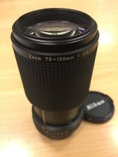 Excellent++ Nikon Series E Zoom 75-150mm f/3.5 Manual Focus Lens from Japan