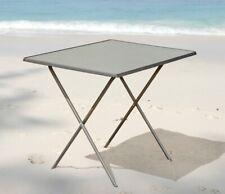 Universaltisch 60x80 Campingtisch Falttisch Klapptisch Tisch Scherentisch grau