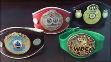 Mini Replica Set Includes All 4 belts🔥😱WBC Boxing Championship WBO IBF WBA