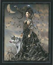 Nene Thomas Art Print 8x10 Bellamaestra Lady of Pain Dominatrix Dragon Wolf