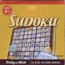 SUDOKU – PROMO CD-ROM (2007) Encyclopaedia Britannica / AGE 8+