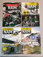 Nam In Country 1-4 Complete Set 1 2 3 4 Full Series Comics 1986 RARE HTF