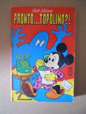 CLASSICI DI WALT DISNEY Pronto Topolino?! Prima Serie 1967 +bol [G734A] Discreto