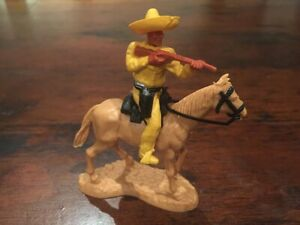 "Timpo Mexican Bandit - ""Short Rifle""/ Standing Horse - Wild West - 1970's"