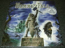 HAMMERFALL-(r)EVOLUTION-2014 2xLP CLEAR VINYL-LIMITED TO 100-NEW & SEALED