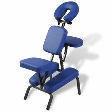 Massagestoel inklapbaar en draagbaar (blauw) massage stoel behandelstoel