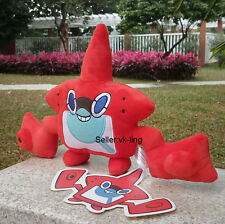 "Nintendo Pokemon Center Heat Rotom 8"" Plush Toy Cuddly Stuffed Animal Soft Doll"