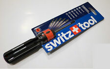 New Switz+tool 07 Easy and Quick Internal Changeable 6 in 1 Screwdriver
