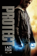 ACTION MOVIE POSTER I Am Number 4 Movie Poster Protect Alex Pettyfer