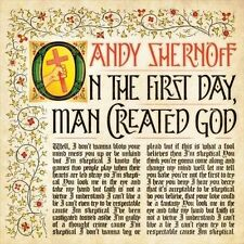 On the First Day, Man Created God [EP] * by Andy Shernoff (CD, Feb-2014,...