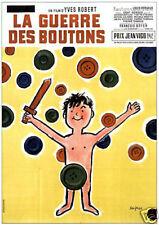 La guerre des boutons vintage French movie poster print