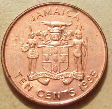 Jamaica 10 centavos 1995
