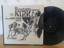 Roland Kirk Quartet,Meets The Benny Golson Orchestra,Mercury MG 20844,Vinyl LP