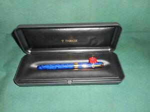 Parker sonnet prem laque blue fountain pen
