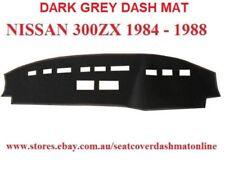 DASH MAT, DASHMAT, DASHBOARD COVER FIT  NISSAN 300 ZX 1984-1988,  DARK GREY