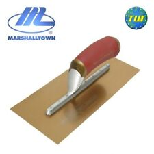 "Marshalltown DuraFLEX 16"" x 5 in Pre-worn Broken-in Gold Steel Plastering Trowel"