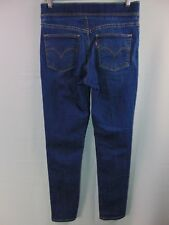 Levis Womens 4 Stretch Elastic Waist Pull On Skinny Leg Denim Jeans Casual Pants