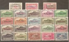 TIMBRE REUNION FRANKREICH KOLONIE FRANCE LIBRE 1943 N°187/232 NEUF** MNH COMPLET