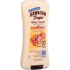 Hawaiian Tropic Sheer Touch SPF30 Sunblock Lotion, 8-Oz Bottle