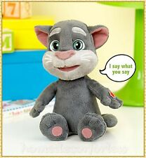 "PLUSH TALKING TOM 10"" Repeats What You Say Talk Voice Record Interactive Toy"