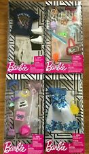New Barbie Clothes - Ken & Barbie Outfits with Accessories (8 Total)
