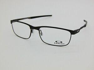 OAKLEY STEEL PLATE OX3222-0456 Powder Pewter 56mm Rx Authentic Eyeglasses