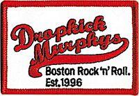 Dropkick Murphys Boston Rock'N'Roll Paño Parche (Cv)