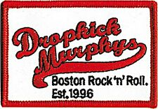 Dropkick Murphys Boston Rock n Roll cloth patch (cv)