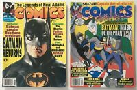 Comics Scene #27 June 1992 / #40 Feb. 1993 Magazines Lot - Early Spawn Rust App.