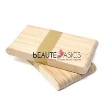 50 Large Wax Spatulas Waxing Sticks Wood Applicators (PW2012x0.5)