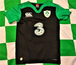 Ireland 2016-2017 Official Canterbury Away Rugby Union Jersey (Youths 8 Years)