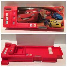 DISNEY Pixar Cars Cartoon Compleanno Natale cancelleria astuccio/scatola