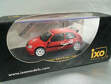 """Citroen Saxo RARE """"Ready To Race"""" edition (IXO 1:43) Brand New, Cat: MOC 025"""