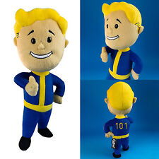 "Fallout 3 Vault Boy 101 Plush 12"" NEW Bethesda Stuffed Toy Doll Figure"